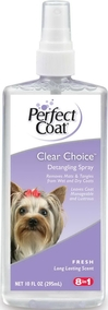 8 in 1 Perfect Coat Спрей легкое расчесывание шерсти собак, PC Clear Choice Detangling Grooming Spray