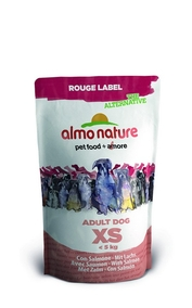Almo Nature 100% Fresh Для Карликовых пород с Лососем (Rouge label The Alternative Extra Small&Salmon)