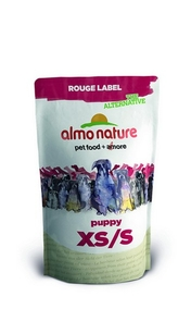 Almo Nature 100% Fresh Для Щенков карликовых пород с курицей (Rouge label The Alternative Extra Small Puppy with Chicken)