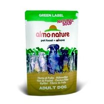 "Almo Nature Холистик-Суп для Собак ""Куриное филе"" (Green Label Natural Soup Dog Chicken Fillet)"