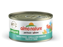 "Almo Nature консервы для кошек ""Форель и тунец"", HFC Natural Adult Cat Trout & Tuna"