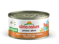 "Almo Nature консервы для кошек ""Курица и тунец"", HFC Natural Adult Cat Chicken & Tuna"