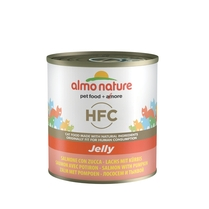 "Almo Nature консервы для кошек ""Лосось и тыква в желе"", HFC Jelly Adult Cat Salmon & Pumpkin"