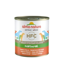 Almo Nature консервы для собак с тунцом и курицей, HFC Natural Tuna & Chicken
