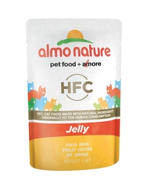 "Almo Nature паучи для кошек ""Курица в желе"", HFC Jelly Cat Chicken"