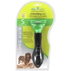 Furminator Фурминатор для собак мелких длинношерстных пород, 4 см (Long Hair Small Dog deShedding Tool)